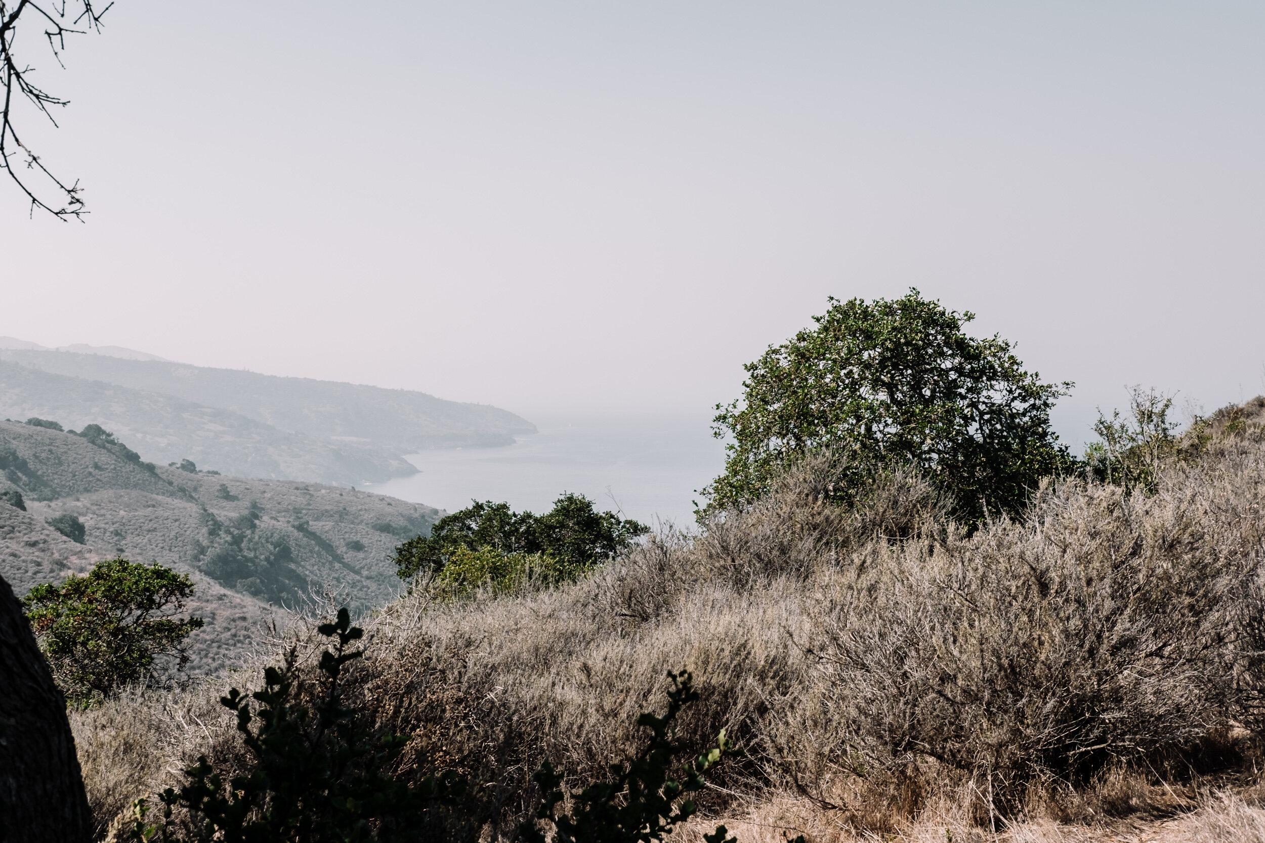 Rachel Off Duty: Ocean View at Santa Cruz Island, Channel Islands