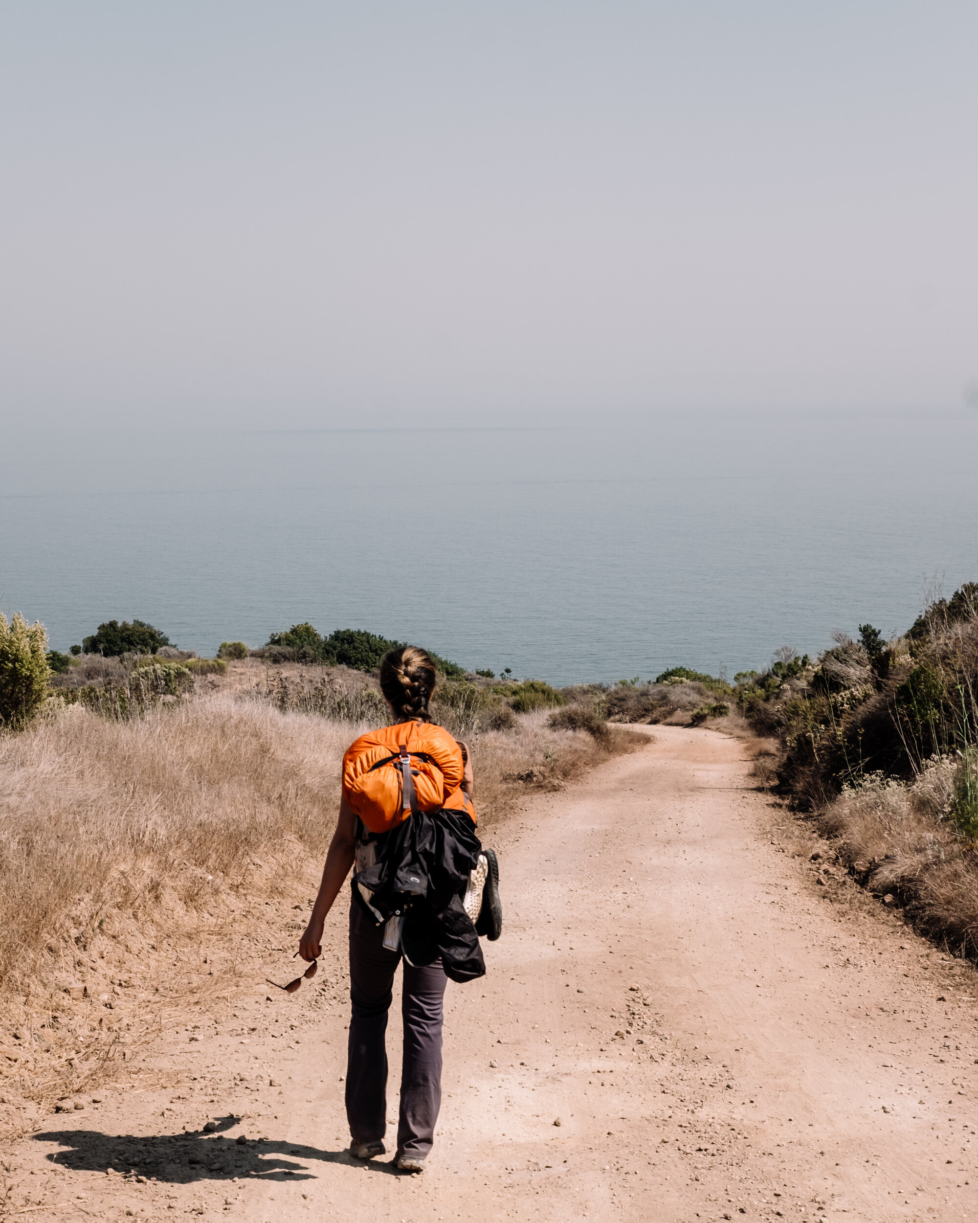 Rachel Off Duty: Woman Backpacking at Channel Islands National Park