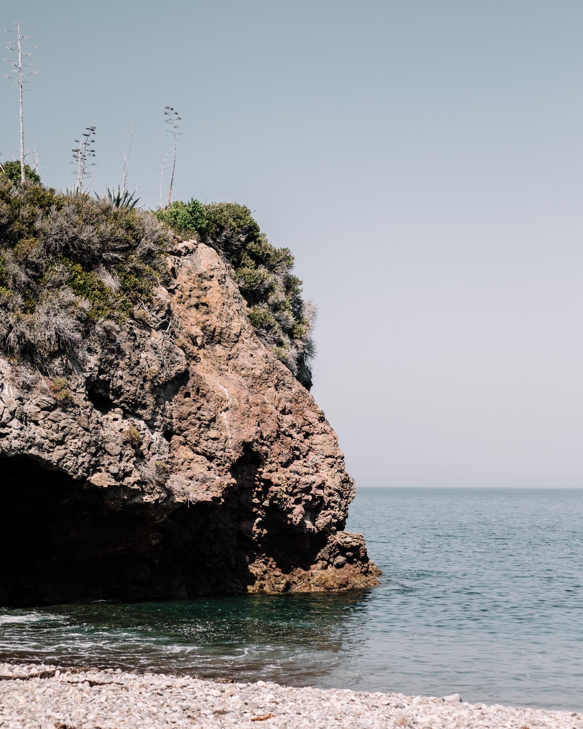 Rachel Off Duty: Cliffs at Channel Islands National Park