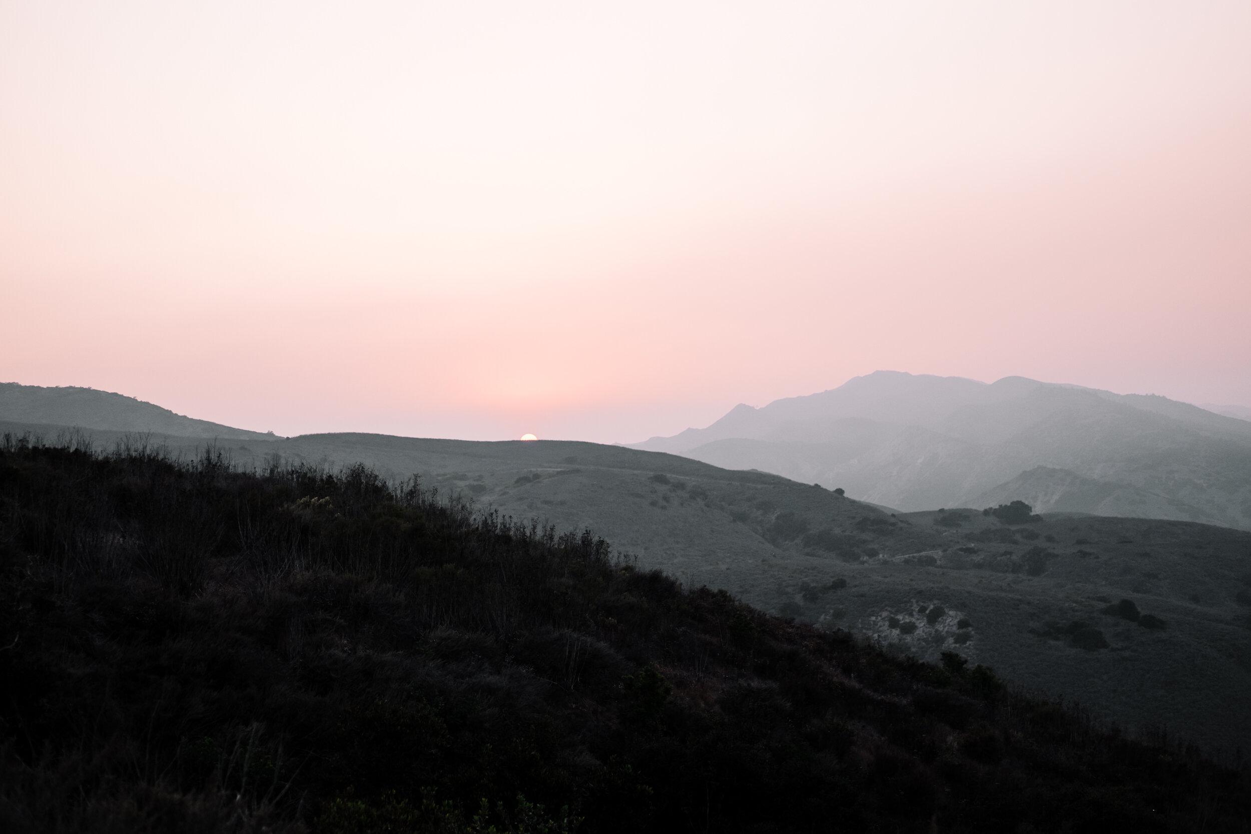 Rachel Off Duty: Sunset at Channel Islands National Park