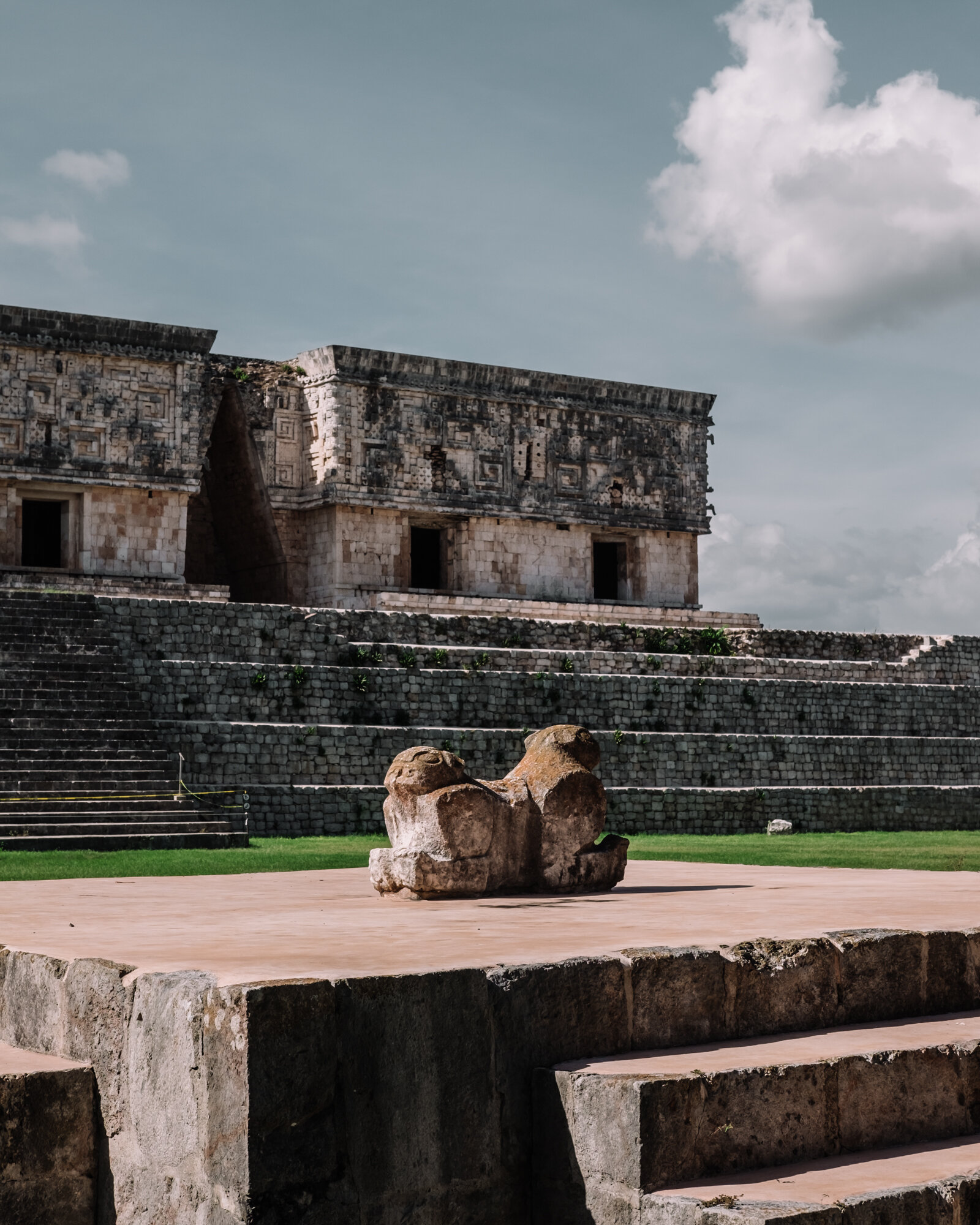 Rachel Off Duty: The Ancient Ruins at Uxmal, Mexico