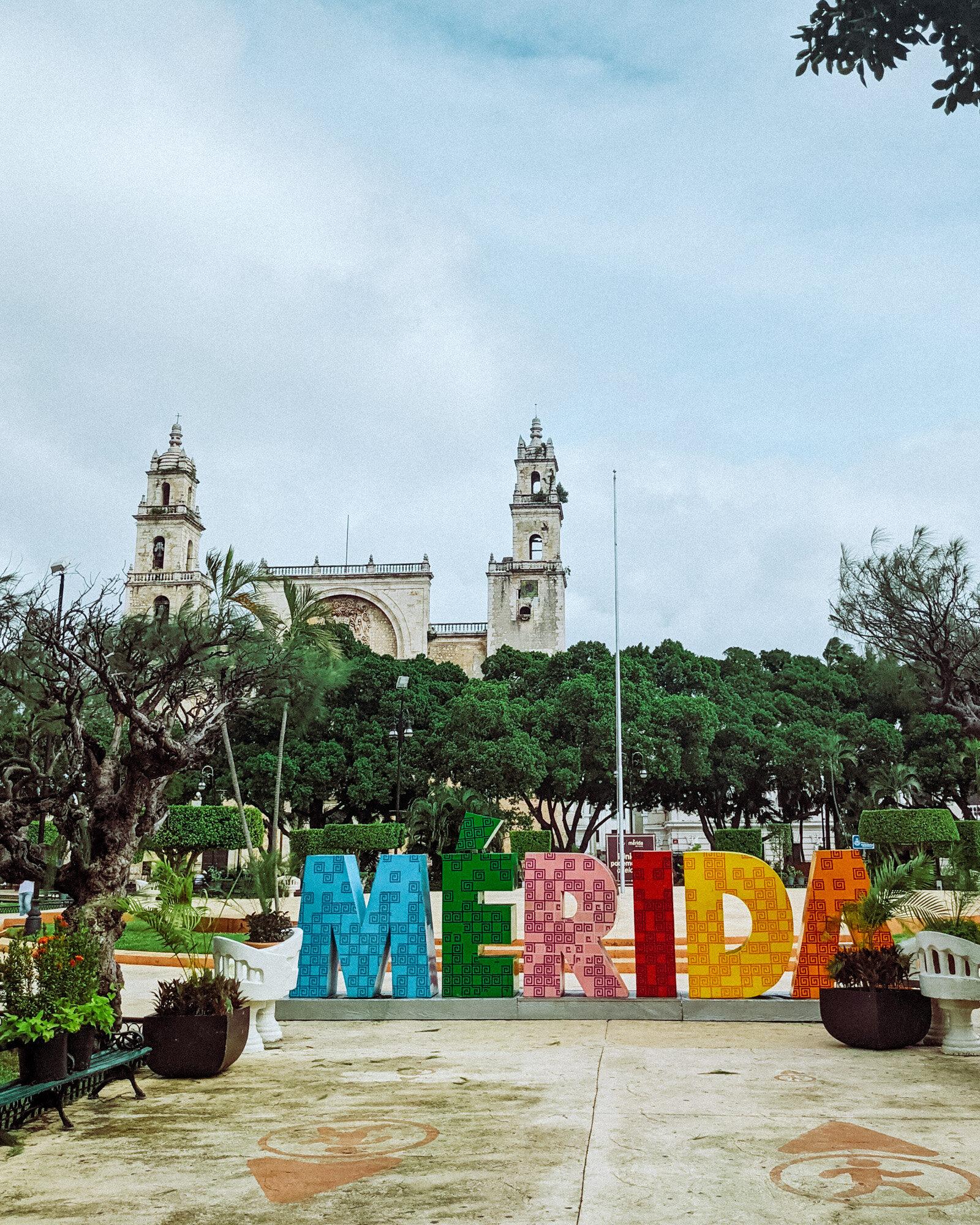 Rachel Off Duty: The Plaza Grande in Merida, Mexico