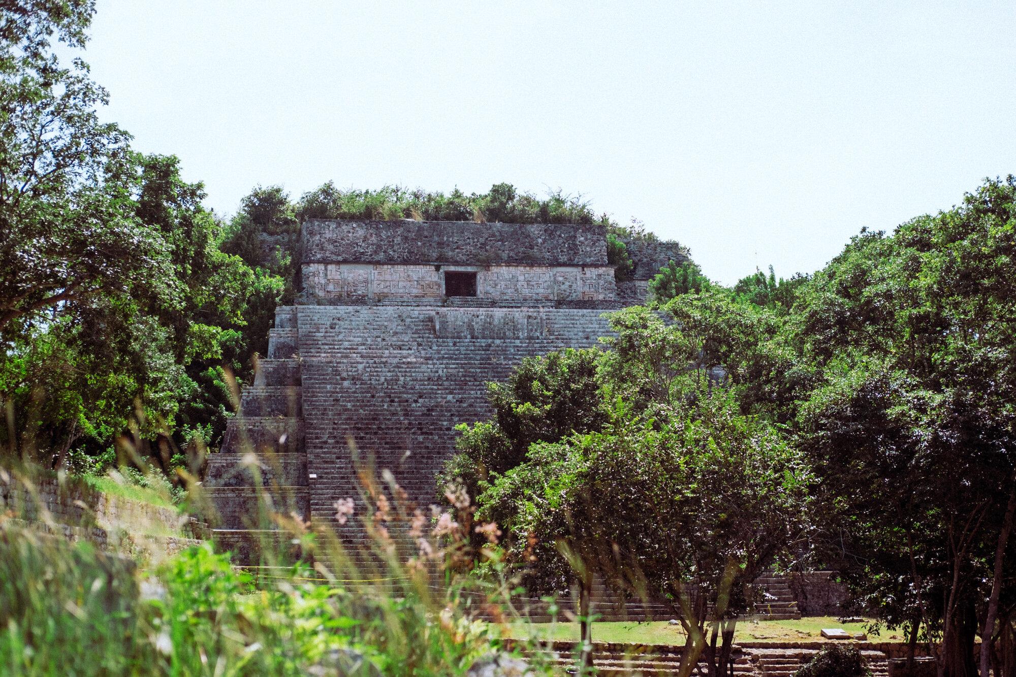 Rachel Off Duty: The Ancient Maya Ruins in Uxmal, Mexico