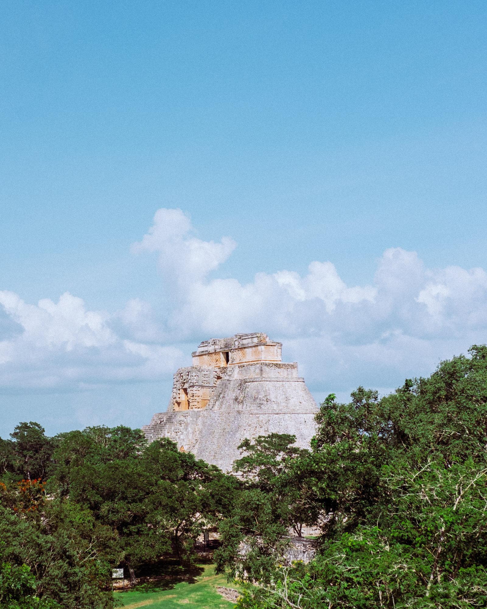 Rachel Off Duty: The Pyramid of the Magician, Uxmal, Mexico