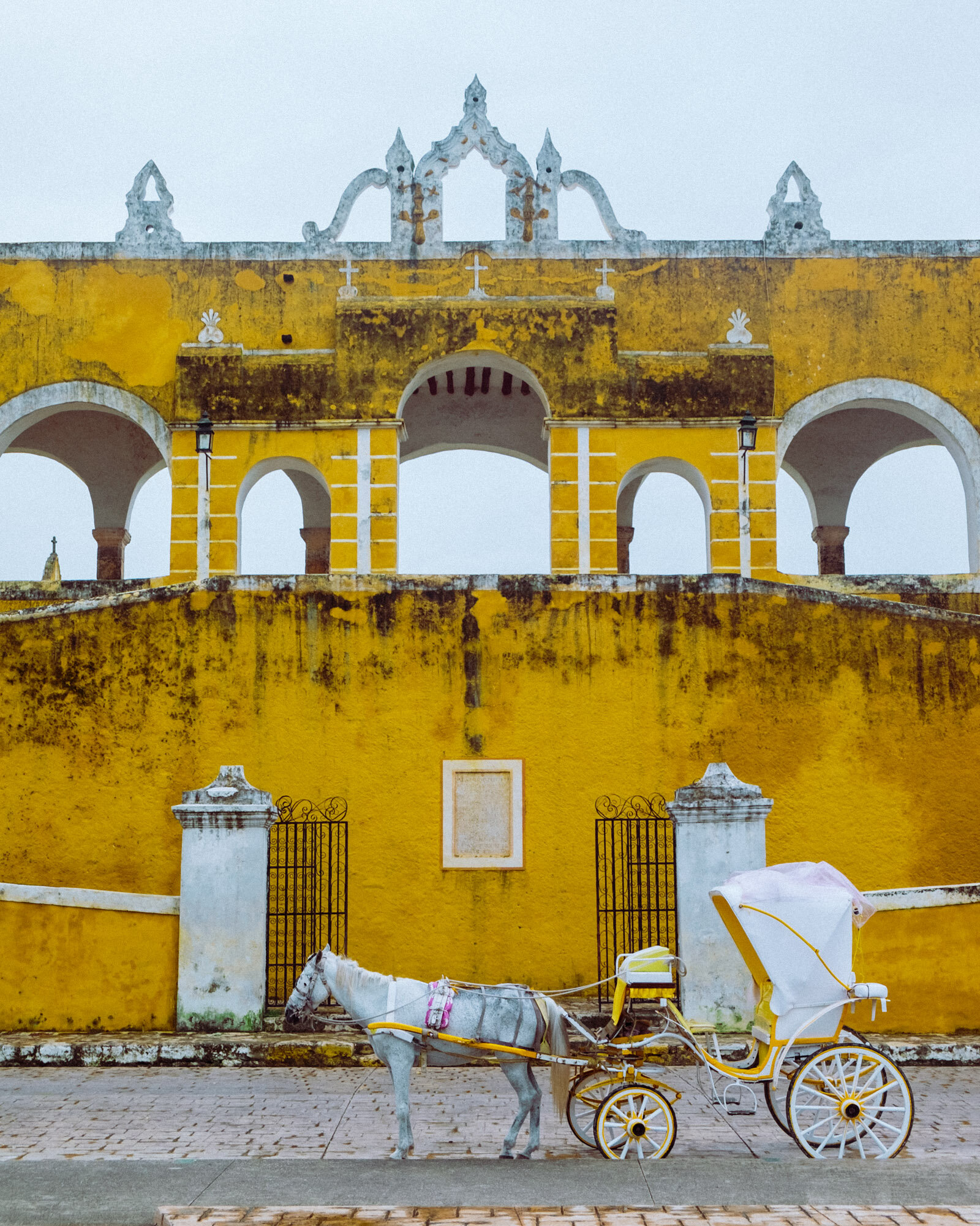 Rachel Off Duty: A Horse-Drawn Carriage in Izamal, Mexico