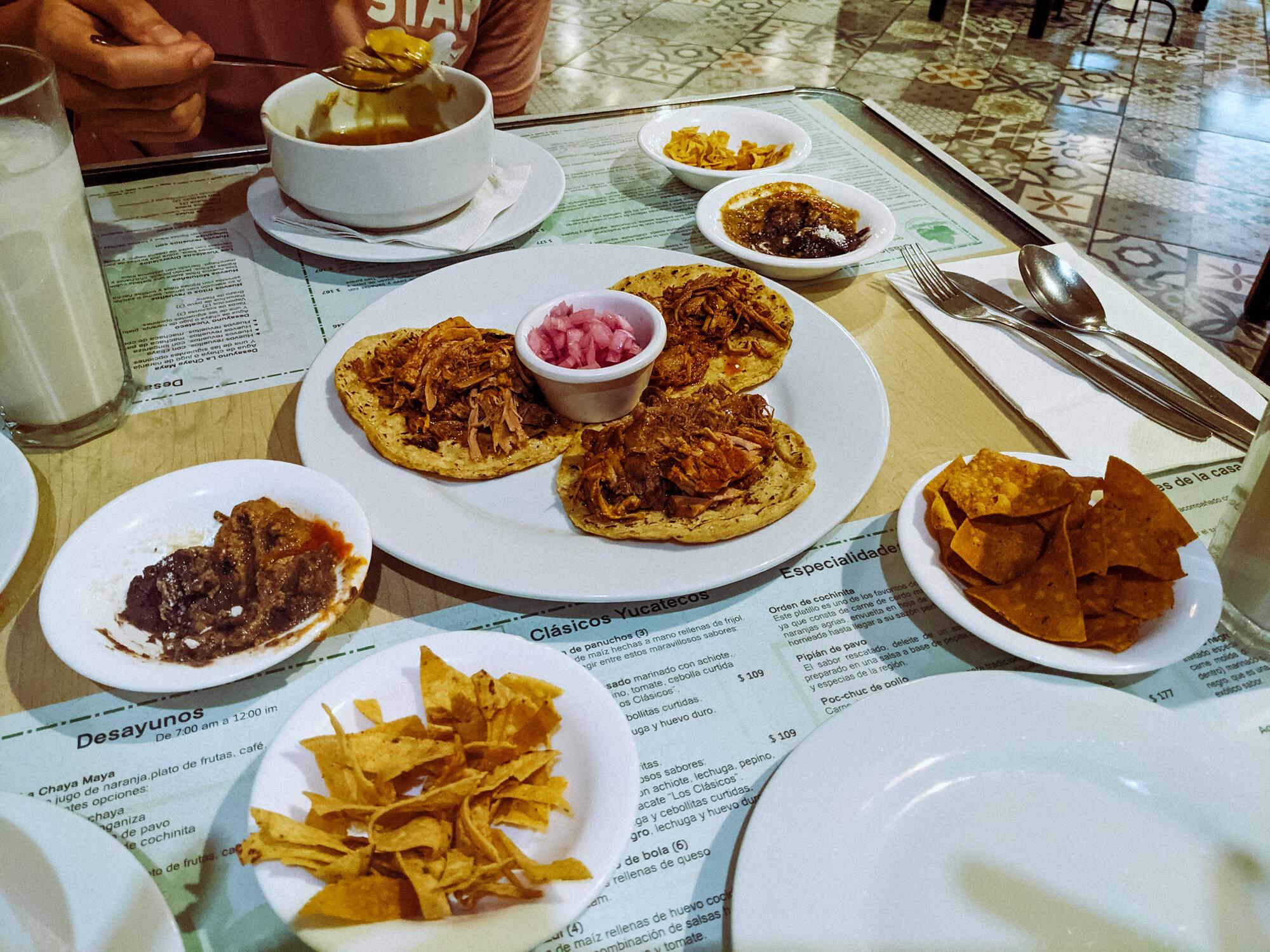 Rachel Off Duty: Yucatecan Food at La Chaya Maya