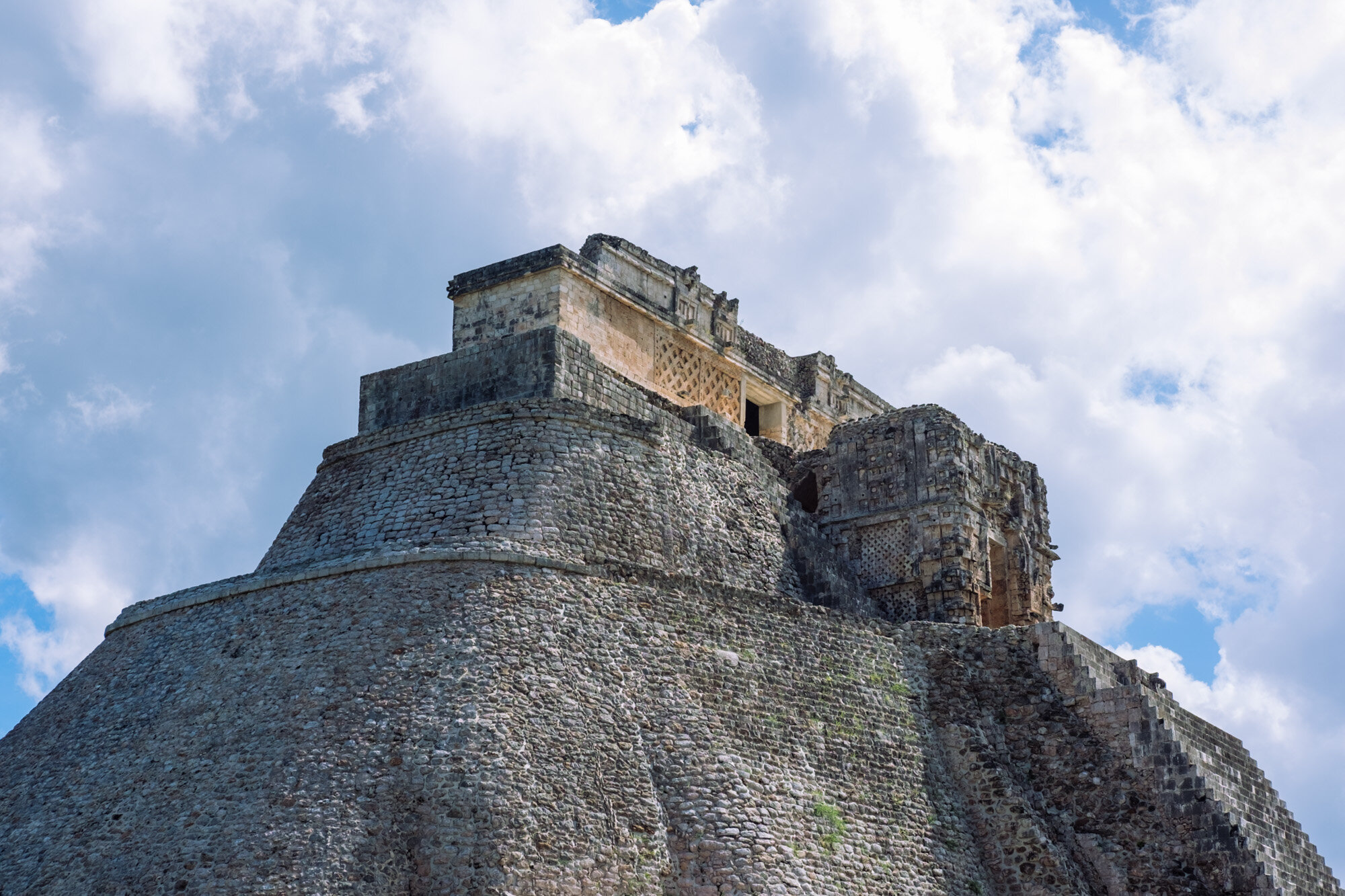 Rachel Off Duty: The Pyramid of the Magician in Uxmal, Mexico