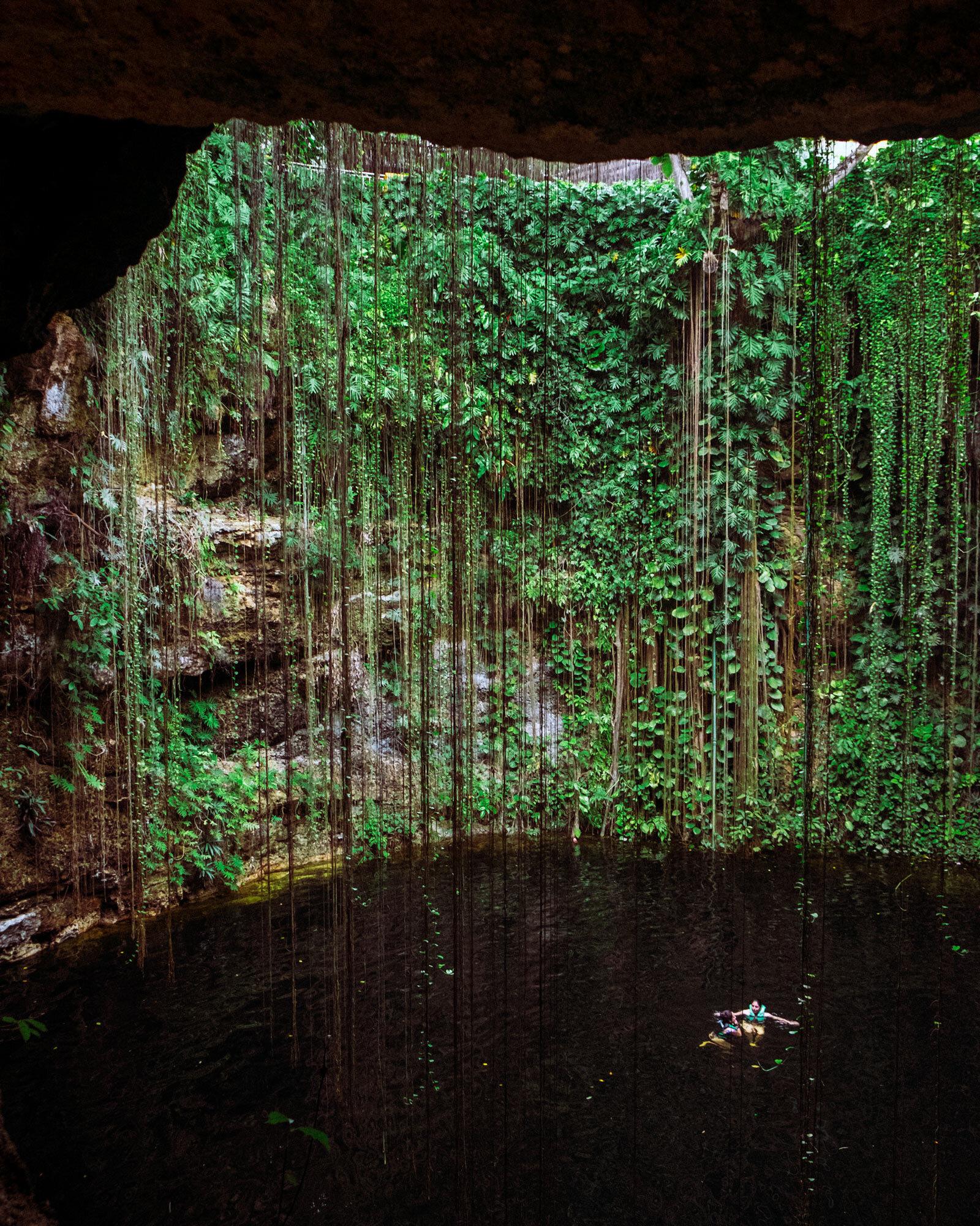 Rachel Off Duty: A Cenote in Mexico