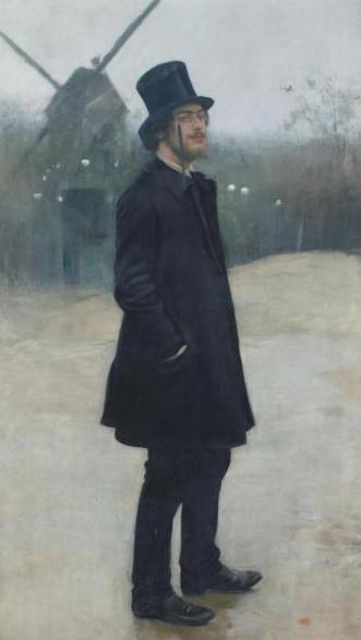 Le Bohème, poète de Montmartre 1891