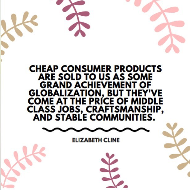 Looking forward to meeting and talking with @elizabethlcline about fast fashion this evening at @ucalgary for their Sustainability Speaker's Series. Hope to see some of you there as well!