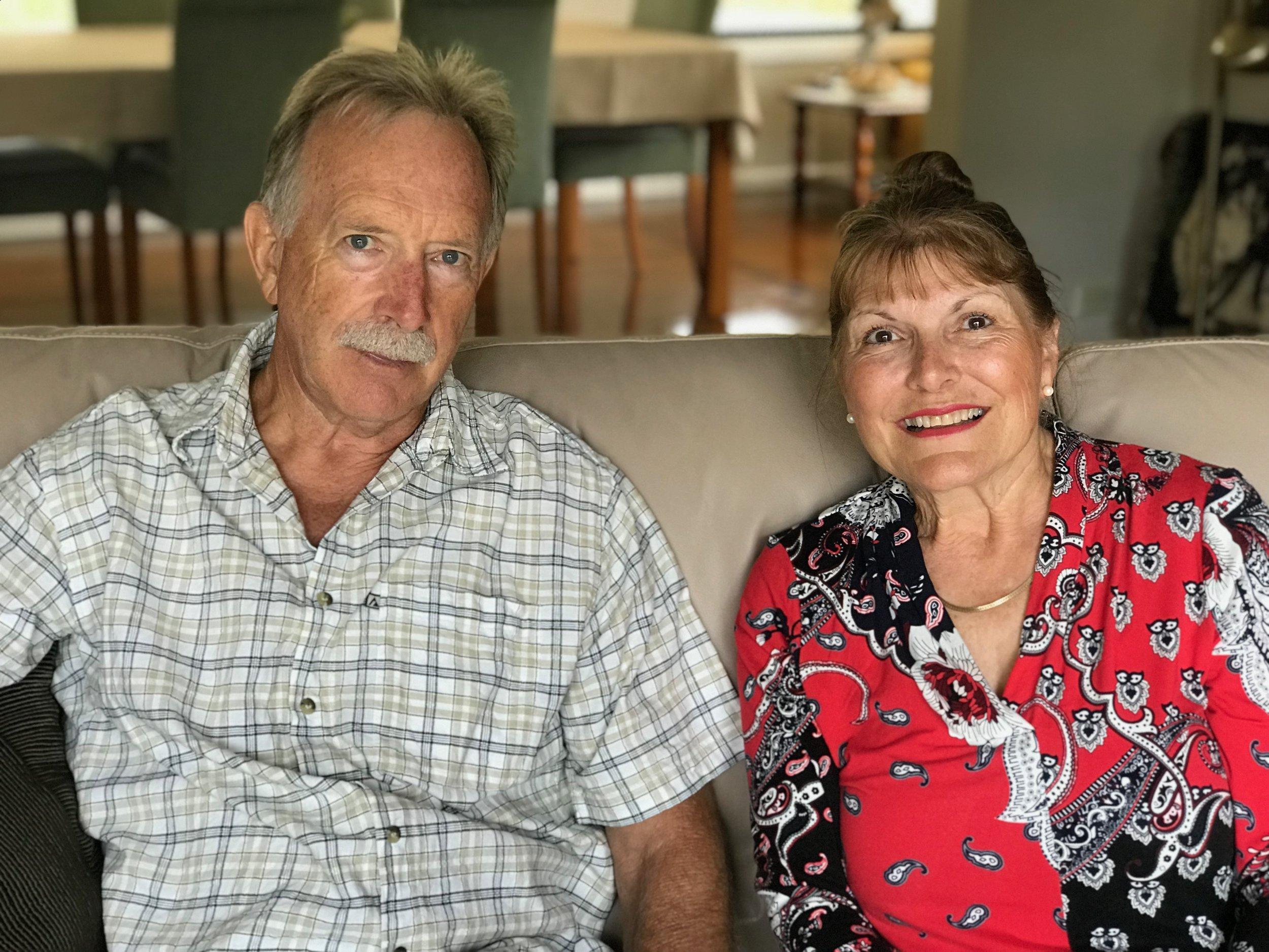Bob and Sue Pearson.