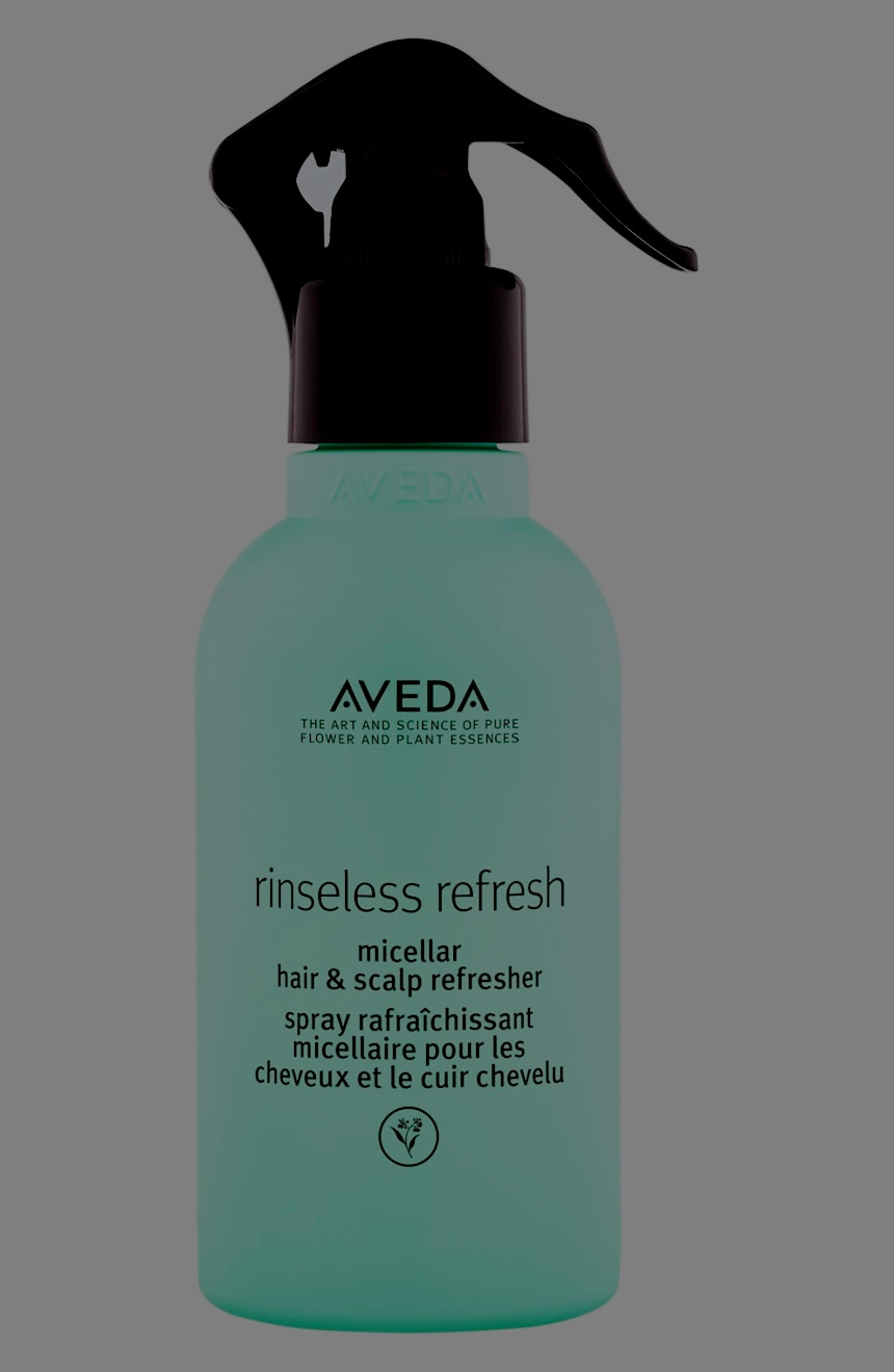 Instantly cleanse your scalp, refresh your hair and add texture. How? Magic—just kidding, its Aveda micellar technology.  Read more to learn why this needs to be on your bathroom counter.  It helps tame frizz for up to 72 hours, provides light flexible hold, soothes the scalp with a super refreshing sensation, extends the time between shampoo (so your color lasts longer) and is suitable for all hair types. To refresh those tresses it is simple: hold your bottle about 7 inches away and dampen hair, roots to ends. Air-dry or heat style to redefine your style.  Not convinced? Step in to your local Aveda and try it…no really, we insist! You will thank us later!