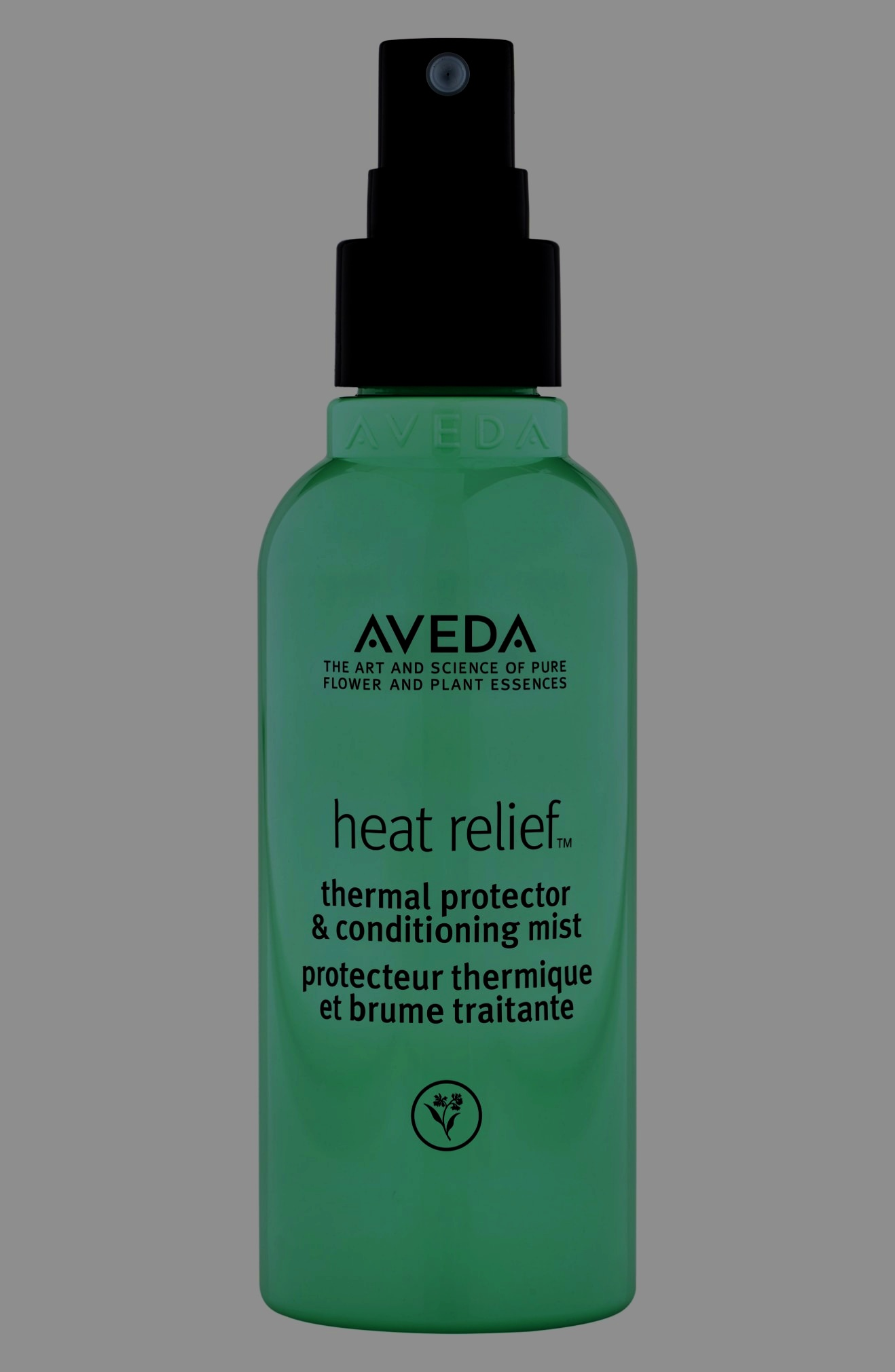 The name says it all, don't try to hide from this ray of sunshine. We know you need it because if your like the rest of us,your hair gets more heat than a Florida Summer Beach.  This 97% naturally derived product protects hair from heat during your second day re-curl or straightening. Another plus… you will smell like Aveda all day because it has our signature Shampure aroma. It will protect your hair from heat at up to 450 degrees. Wow, that's hot! It's super easy, spray lightly onto your dry hair about 7 inches away. Focus on mid-lengths to ends. Heat-style as however you like. It conditions and protects. Too good to be true? Nope, just more Aveda magic.