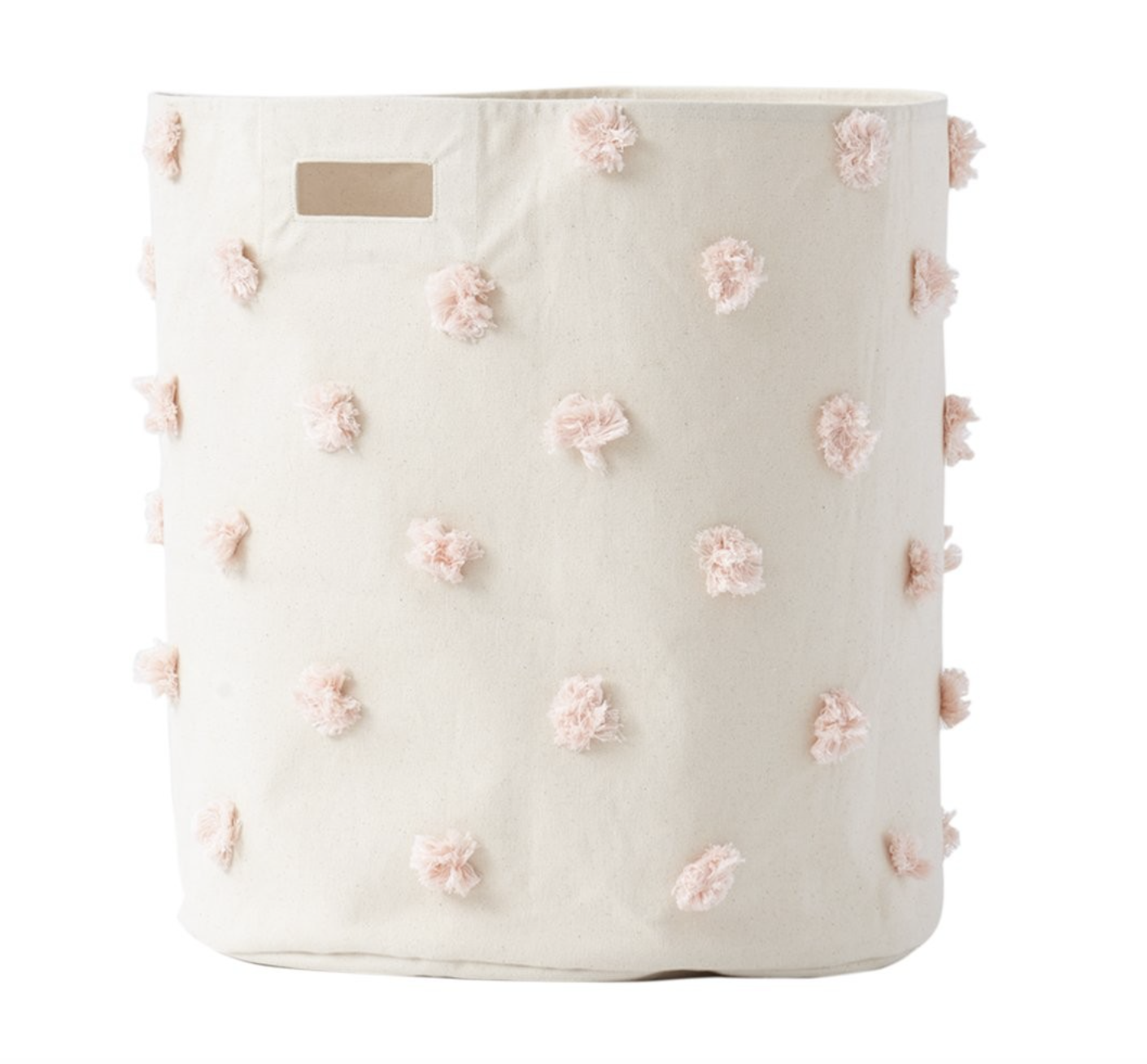 Pom poms, need I say more!? Maybe this will make the men in our lives actually put their clothes in this hamper..or maybe not!?
