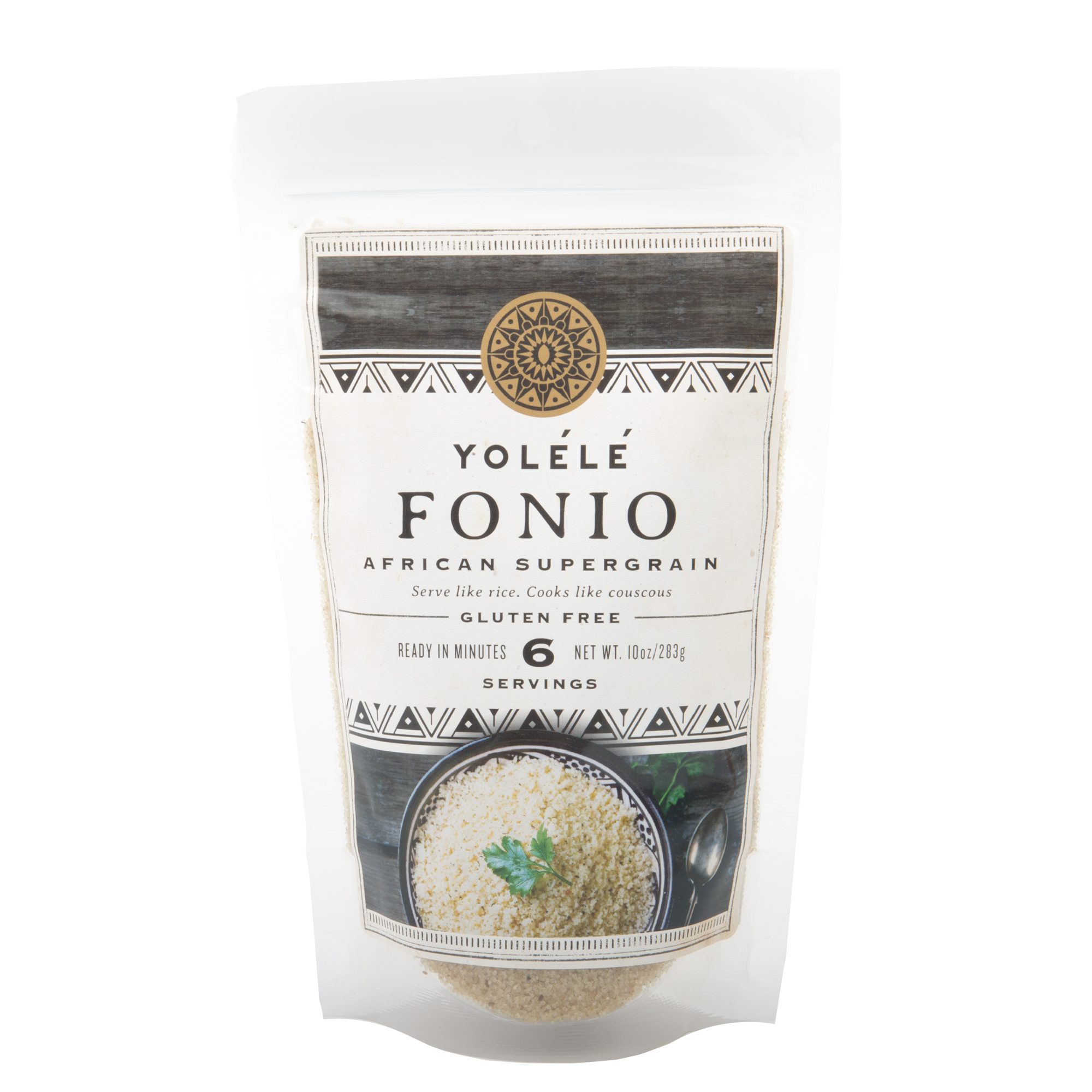 YoléléFonio - Founded by Pierre Thiam,Yolélé Foods is introducing West Africa's oldest grain, Fonio, to the world - it's gluten-free, has x3 protein, iron, fiber of brown rice and cooks in just 5 minutes!