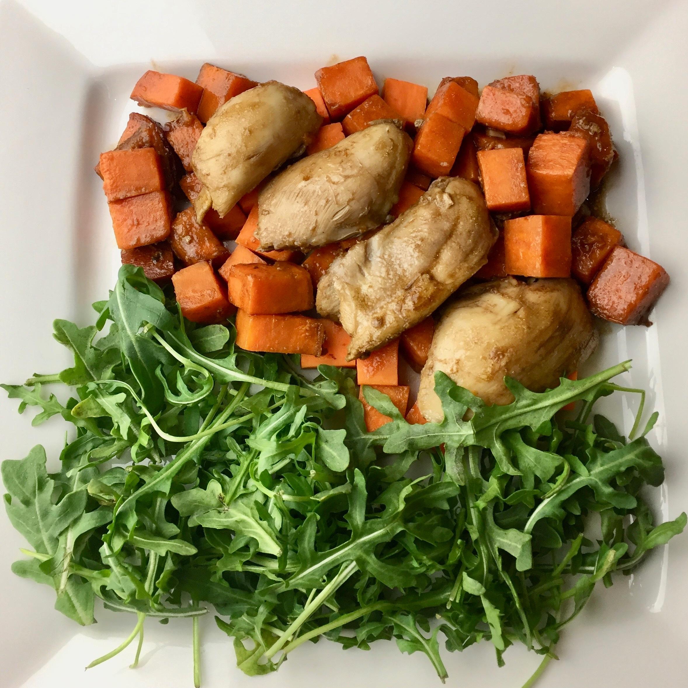 Sweet Potato Chicken