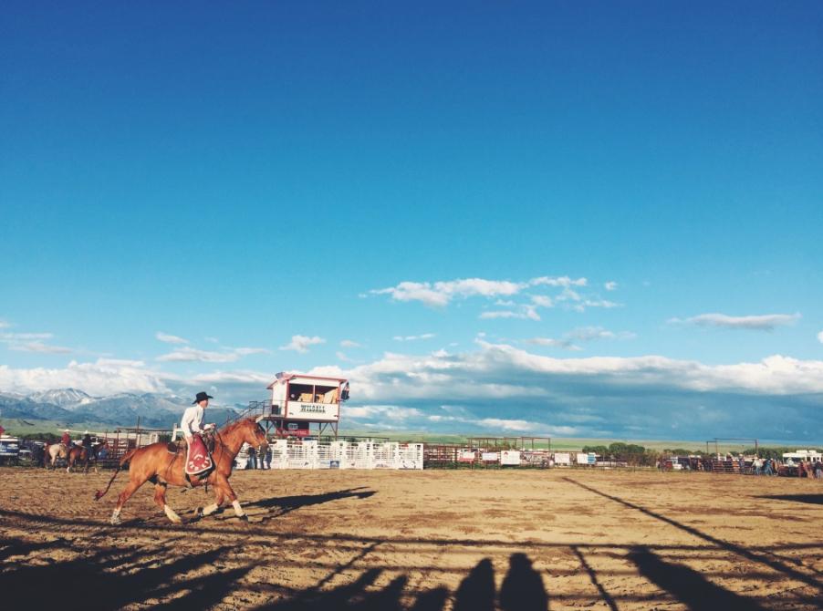 wilsall rodeo. wilsall, montana.