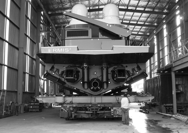 Ermis 2 - high speed, advanced composite