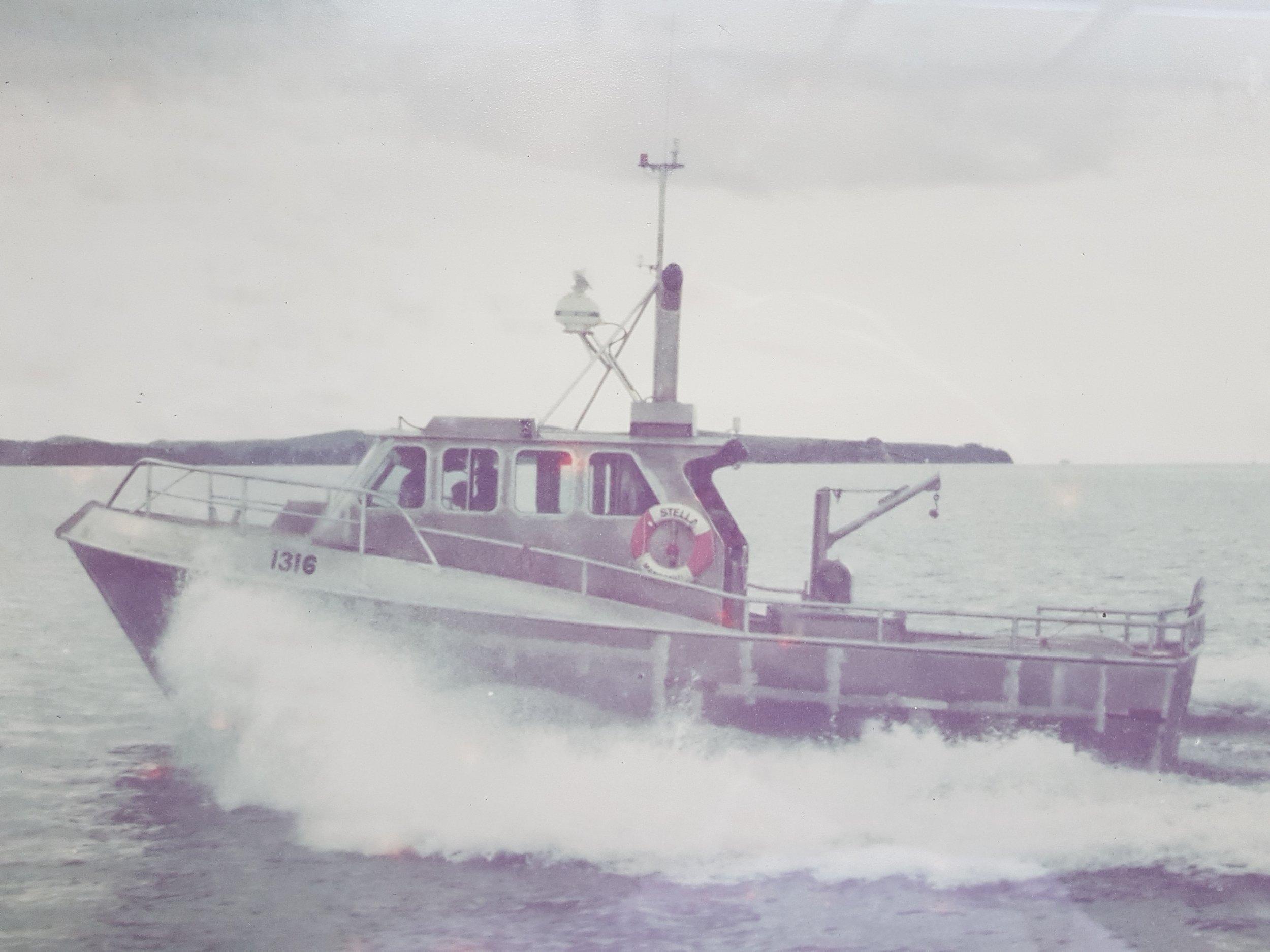 Stella - sea trials 1976.jpg