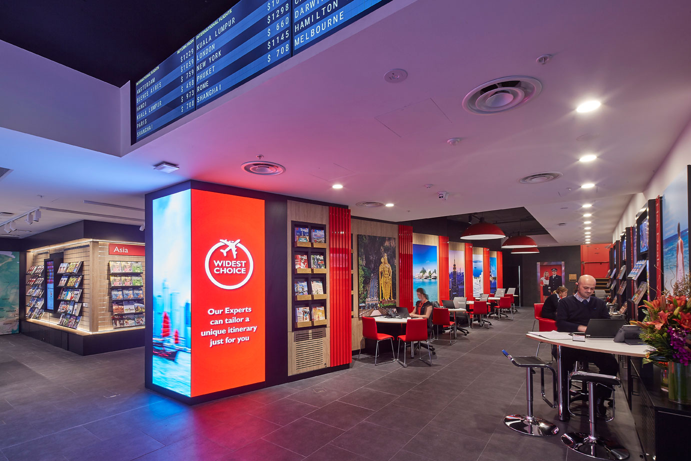 Flight Centre - George St Sydney Flagship Store