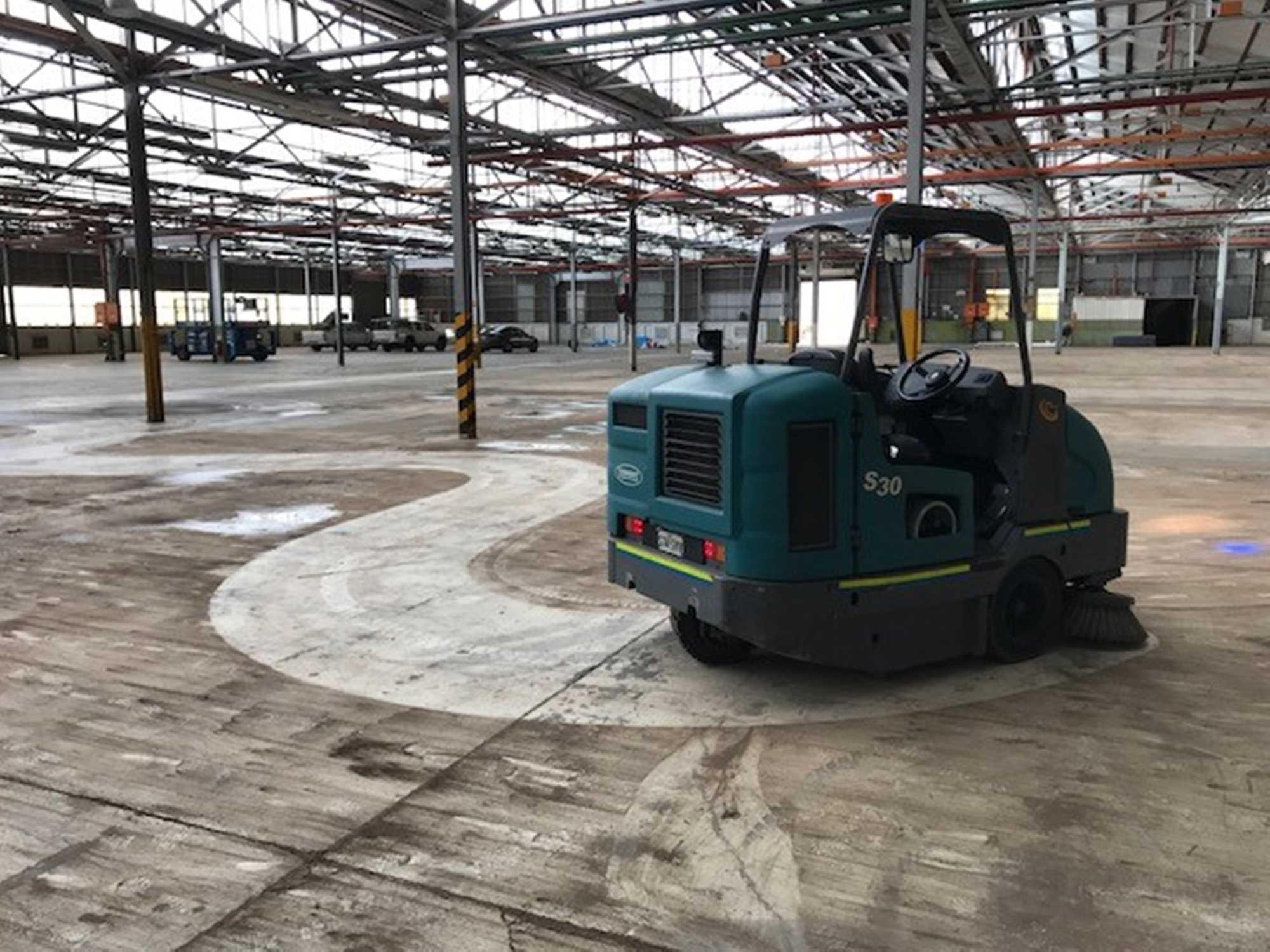Industrial Sweeping Services -