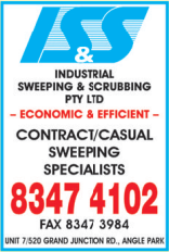 Industrial Sweeping and Scrubbing (.com.au was too long)