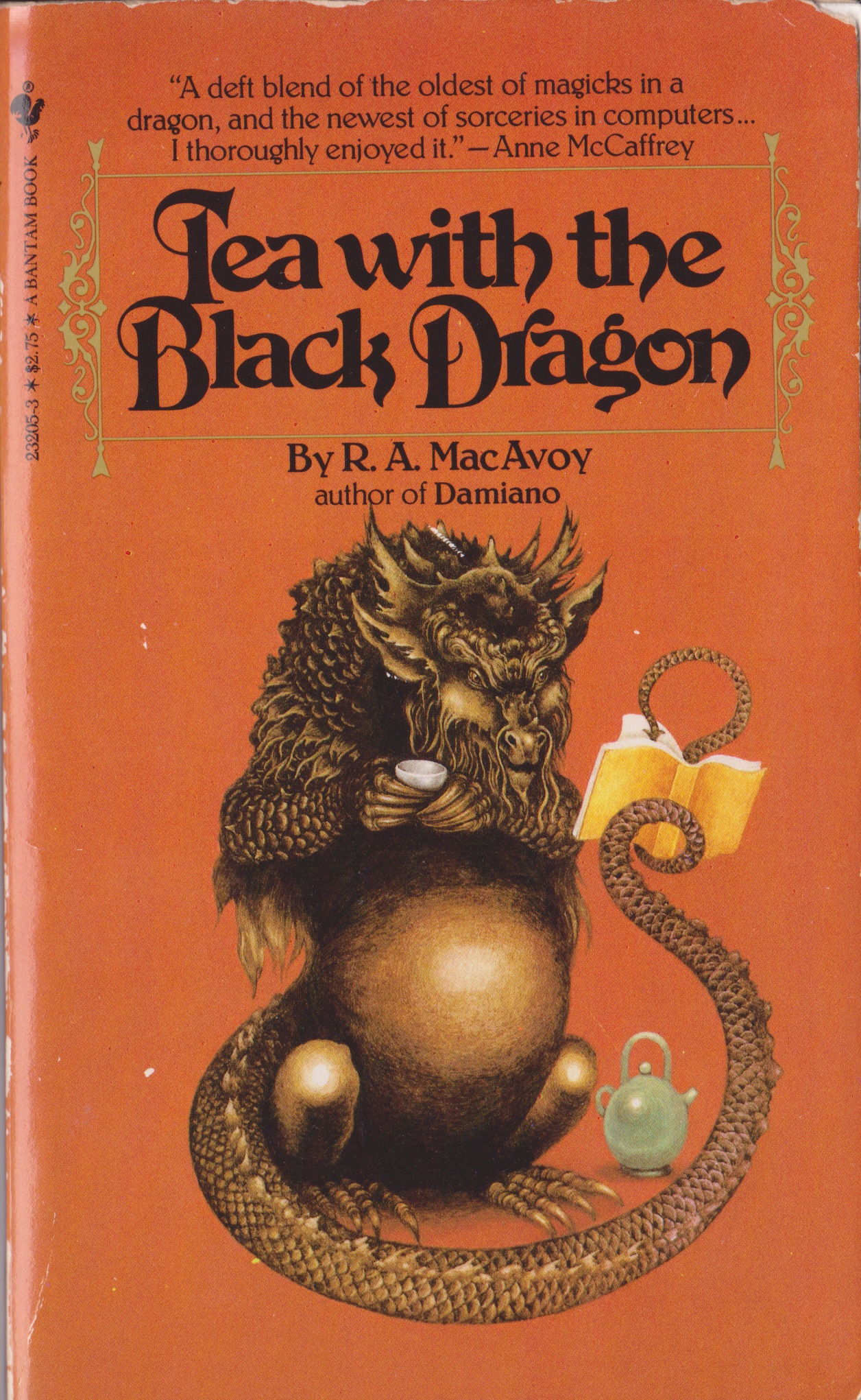 Tea with the Black Dragon by RA Macavoy-front.png