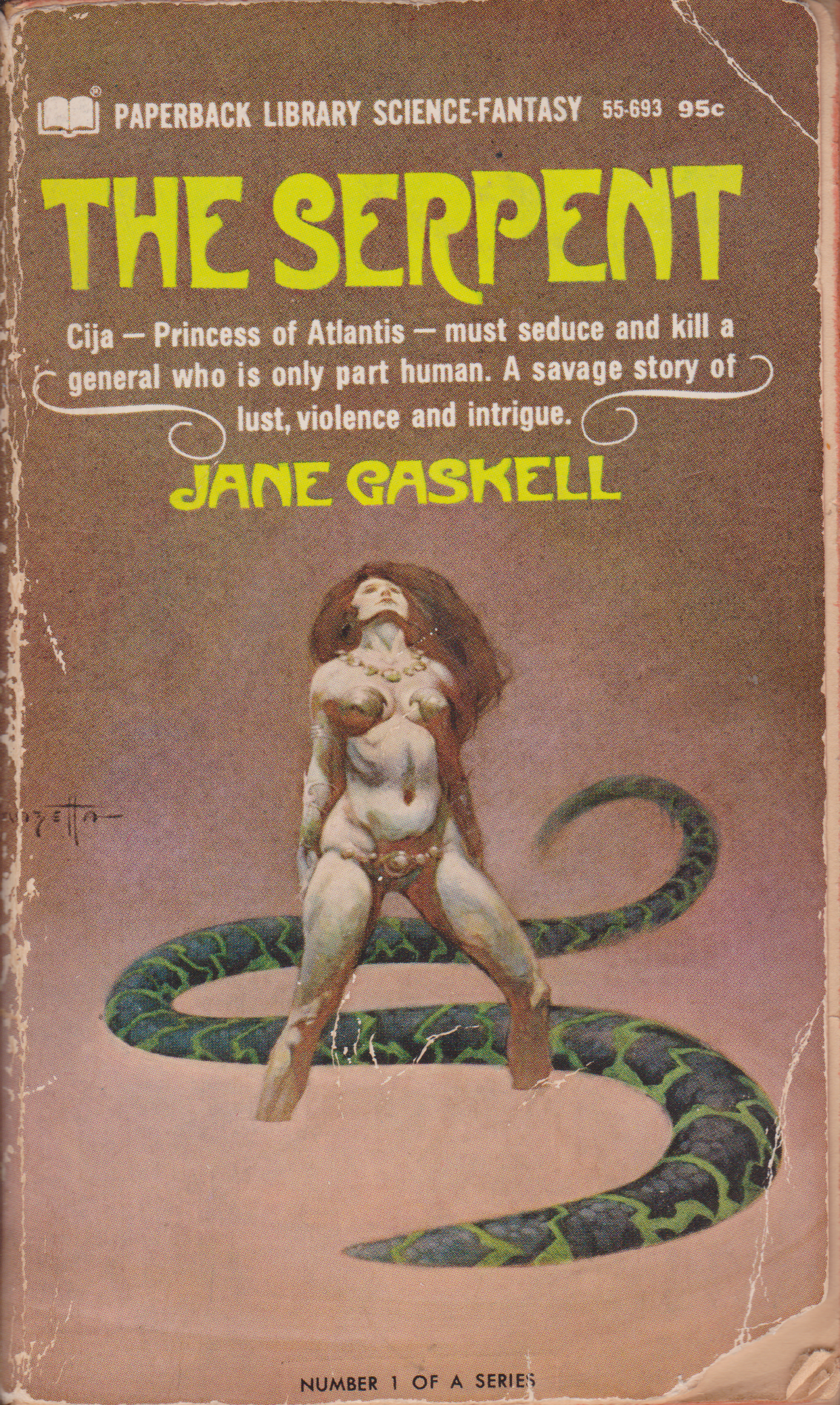 The Serpent by Jane Gaskell-front.png
