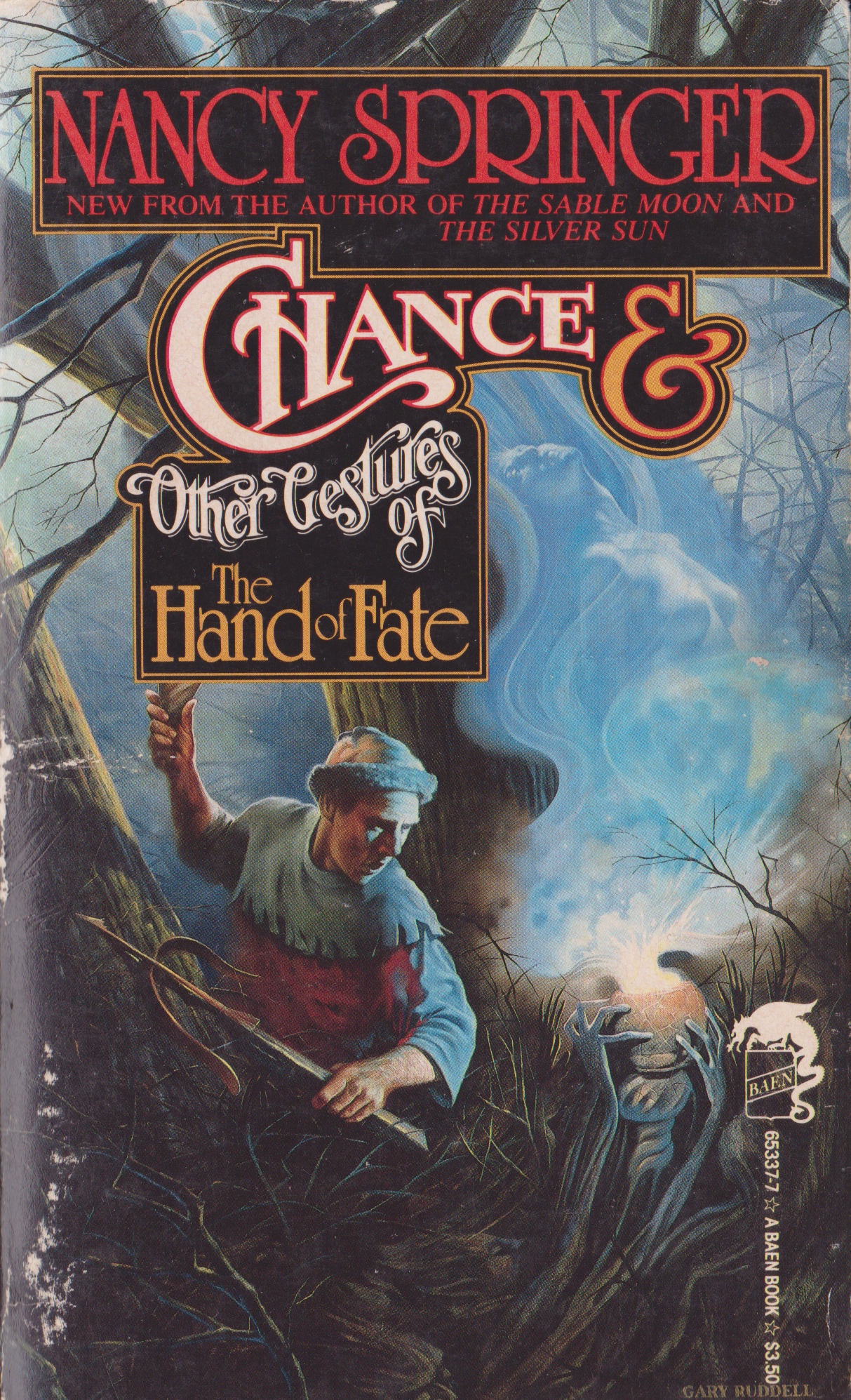 Chance and Other Gestures of the Hand of Fate by Nancy Springer-front.png
