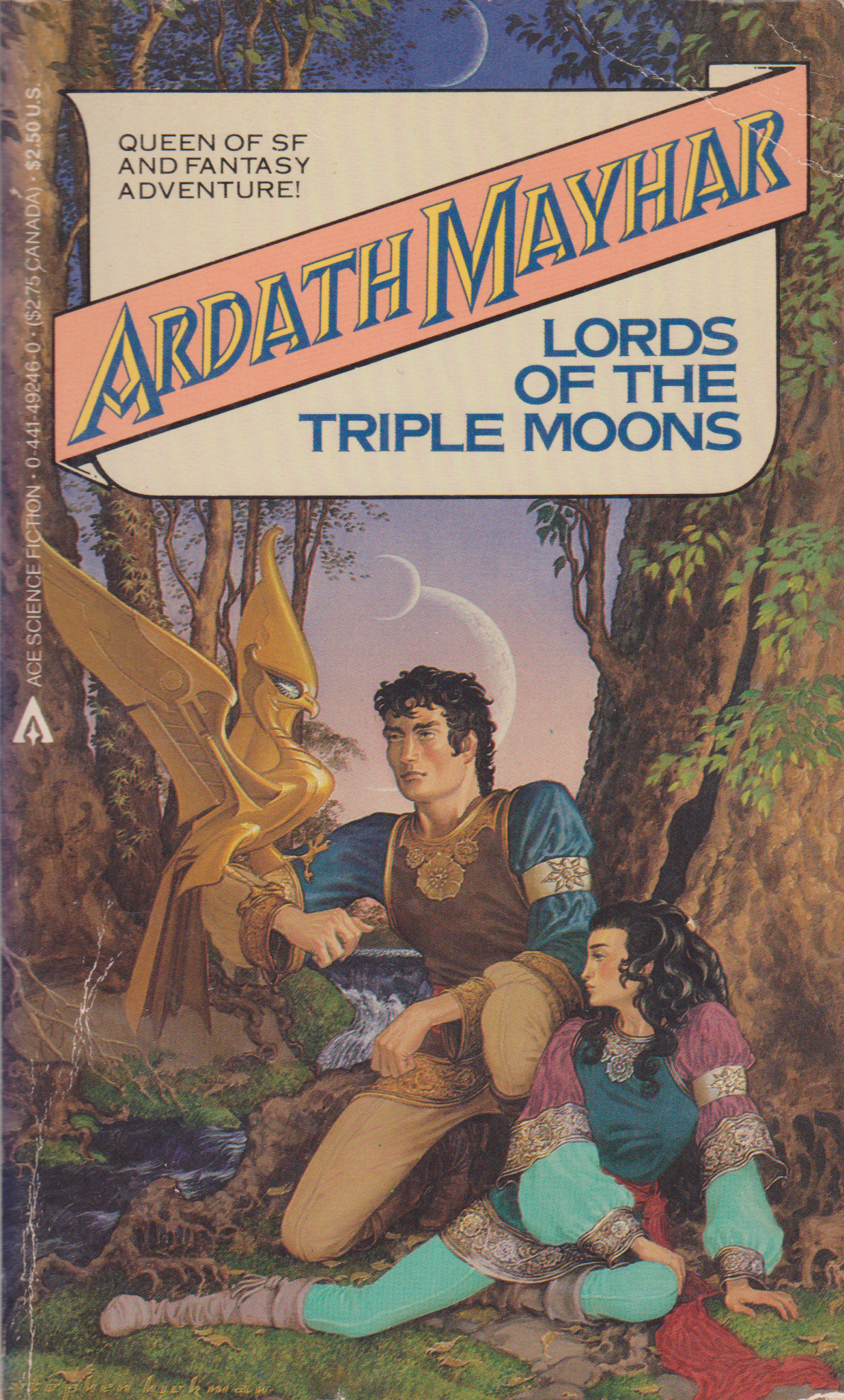 Lords of the Triple Moons by Ardath Mayhar-front.png