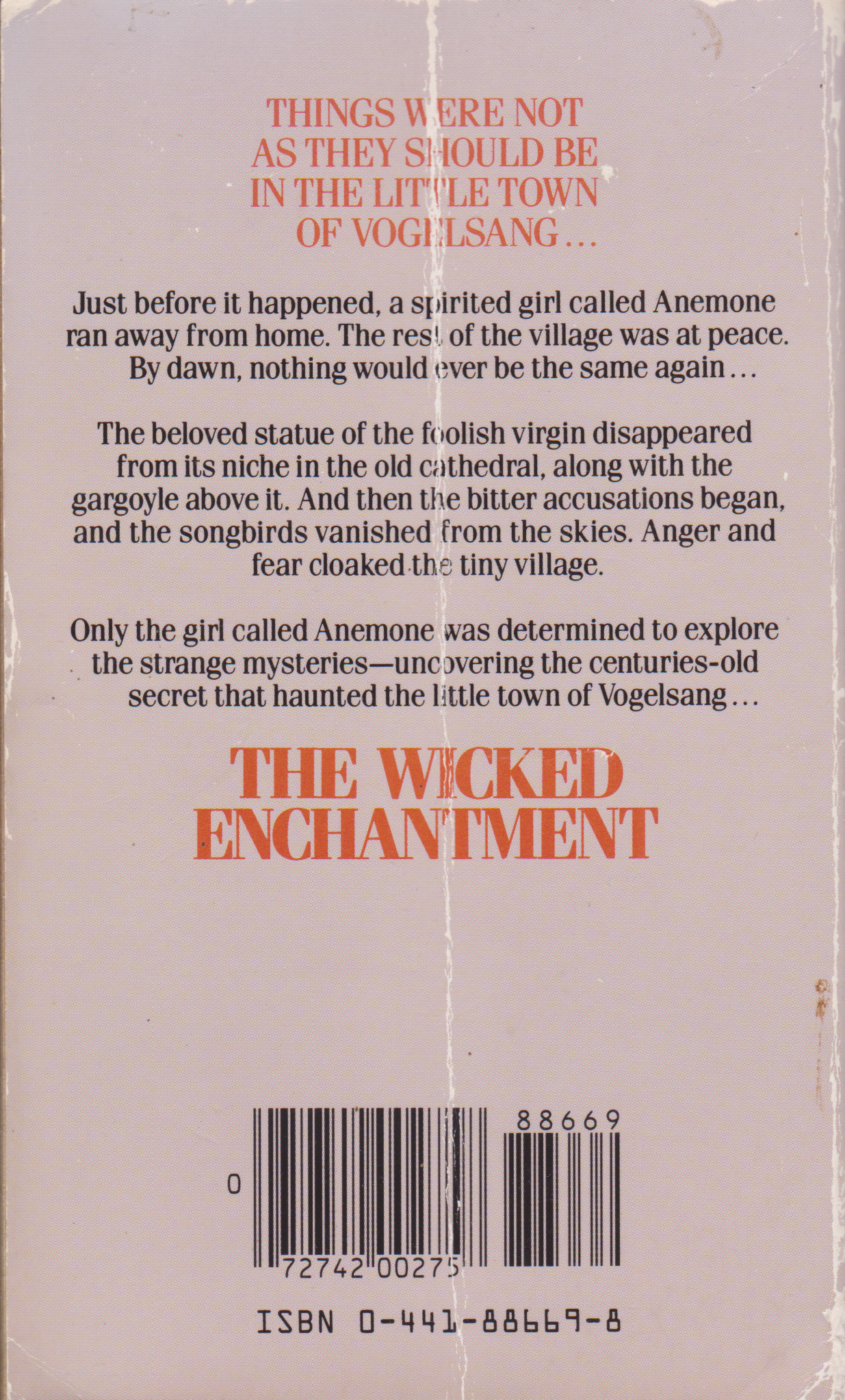 The Wicked Enchantment by Margot Benary-Isbert-back.png