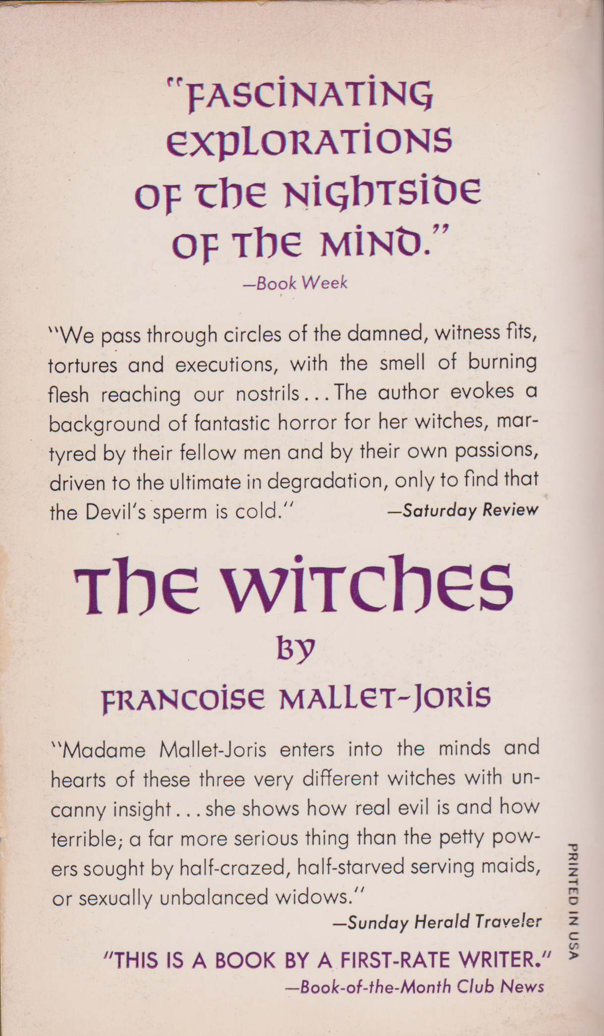 The Witches by Francoise Mallet-Joris-back.png