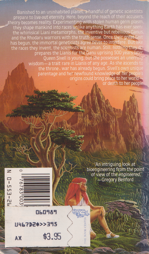 The Shaper Exiles-Garden of the Shaped by Sheila Finch, back.png