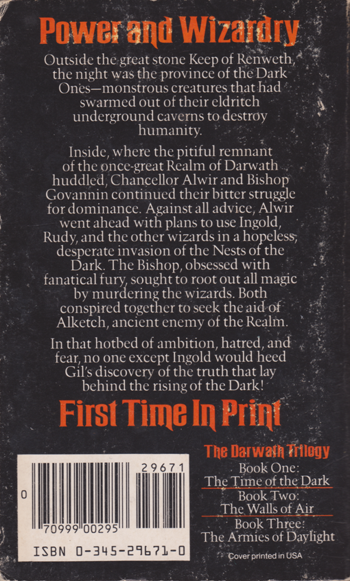 The Armies of Daylight by Barbara Hambly--back.png