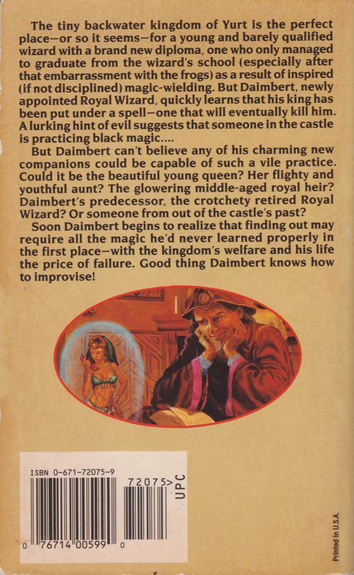 A Bad Spell in Yurt by C. Dale Brittain--back.png
