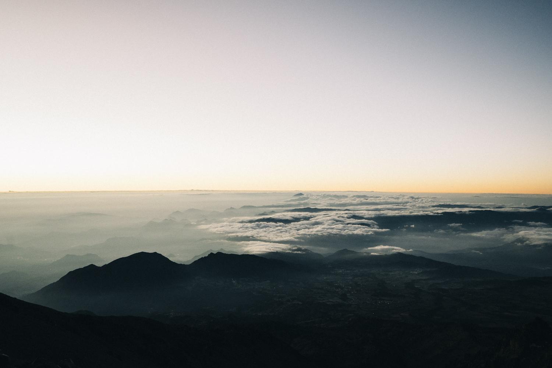 Sunrise on Pico De Orizaba at 16,500ft.
