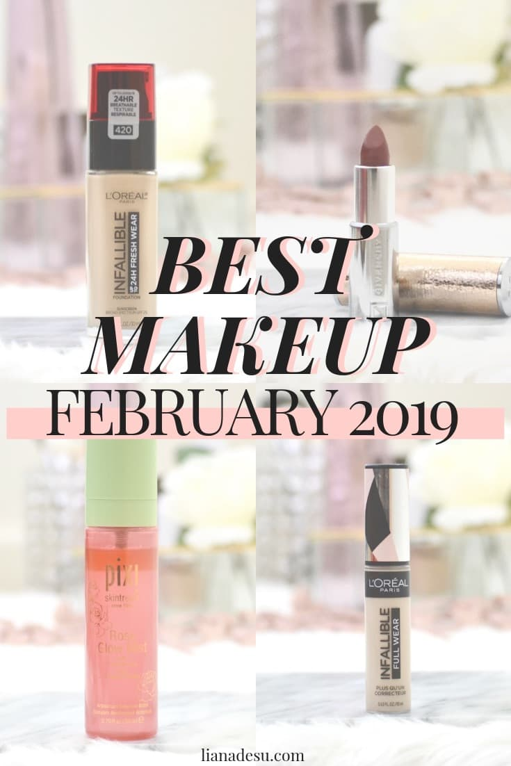 Makeup Favorites - February 2019. It's that time of the month again! Here are my picks for the best makeup of February! Get all of the details on the best beauty of February 2019.  #makeup #Beauty