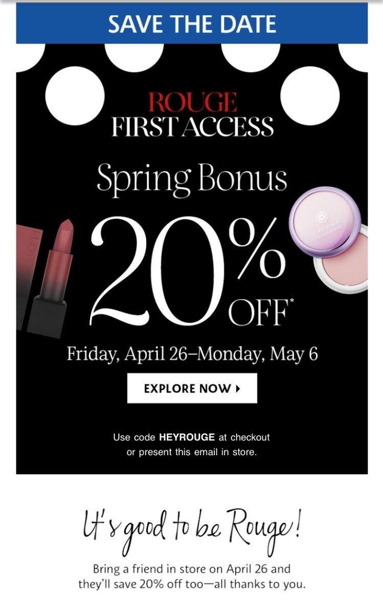 The Sephora Sprng VIB Sale is just around the corner! Get all the details you need including the sale dates and discount codes!