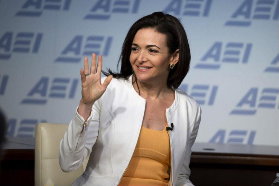 Sheryl Sandberg in Washington D.C. (Credit: Forbes)