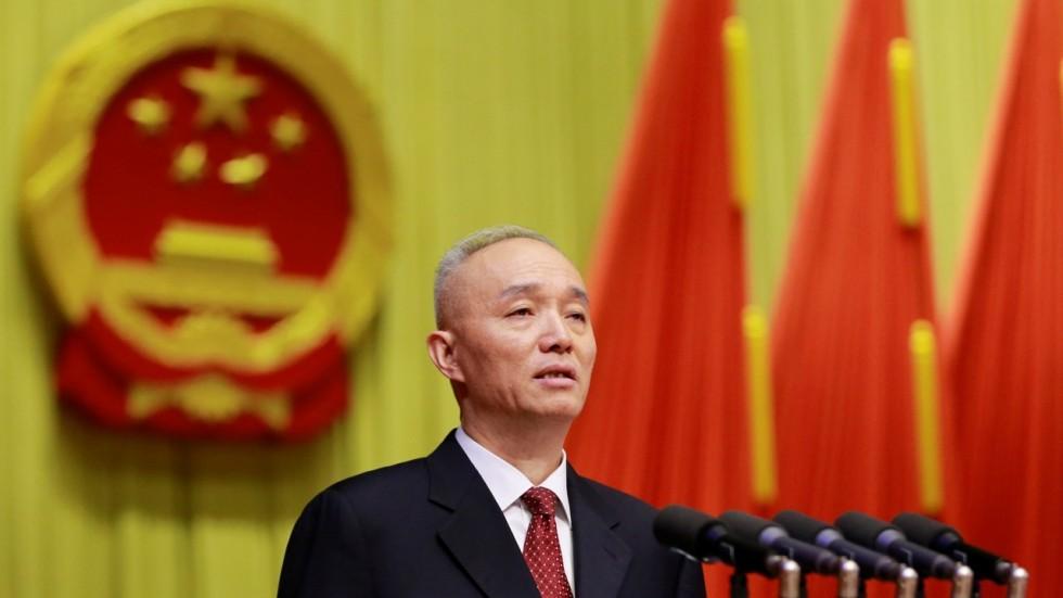 Cai Qi, Credit: SCMP