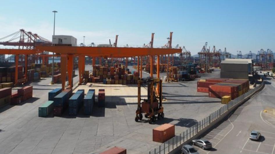 Piraeus Port (Credit: BBC.com)
