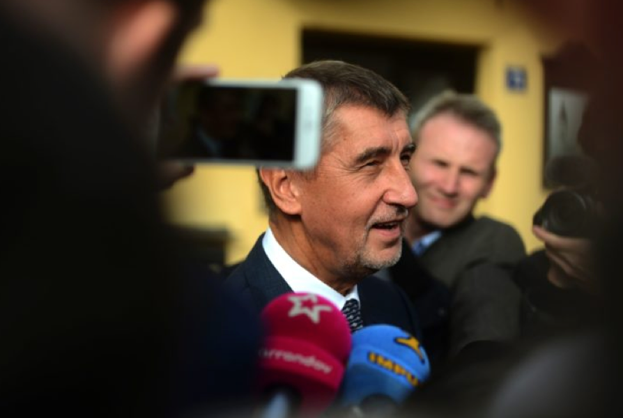 Andrej Babis, chairman of the ANO movement (Credit: Michal Cizek/AFP via Getty Images)