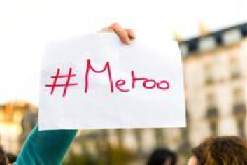 #Metoo gives mistreated women a public voice.  Photo Courtesy: AP