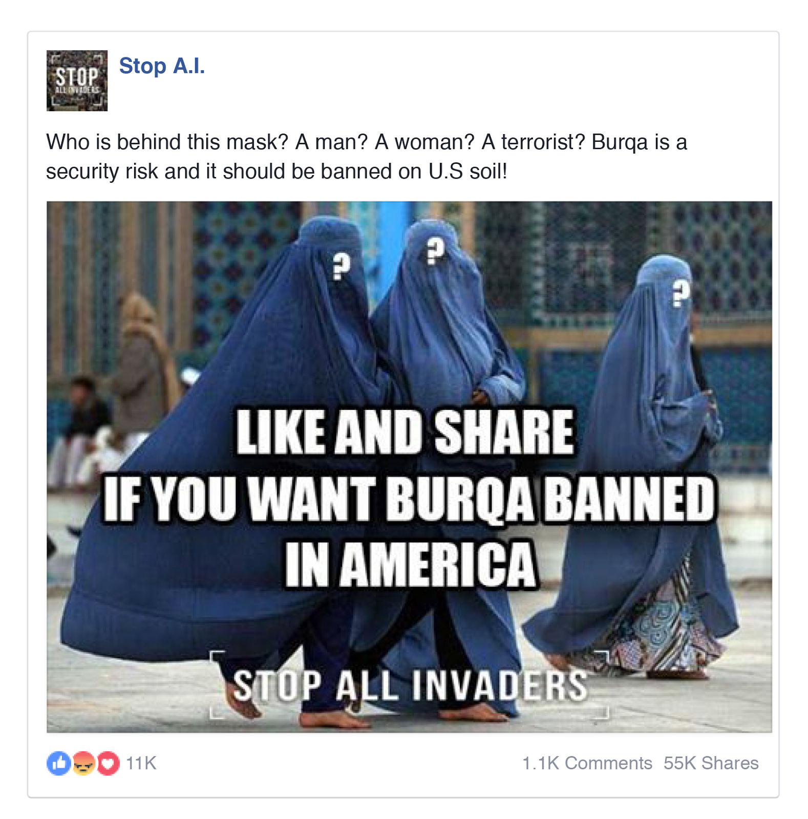 "Taking a stand against ""Radical Islam"""