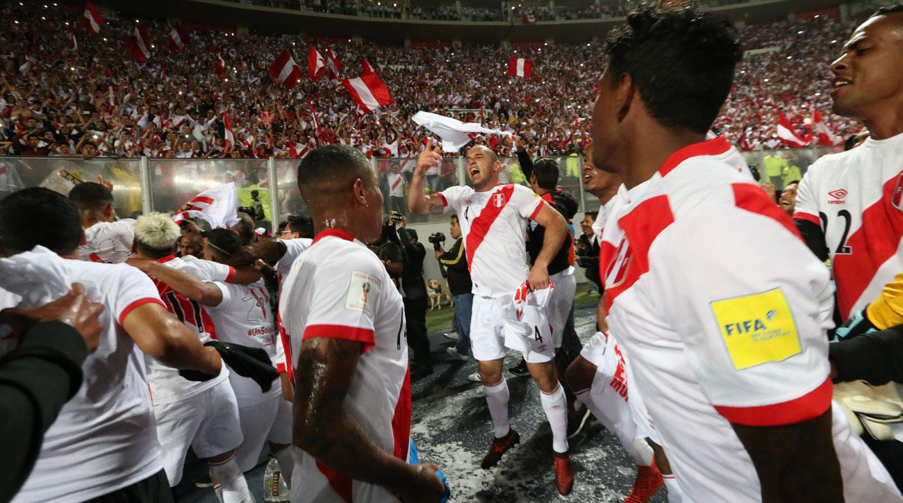 Peru reaches first world cup since 1982 (Sports Illustrated)
