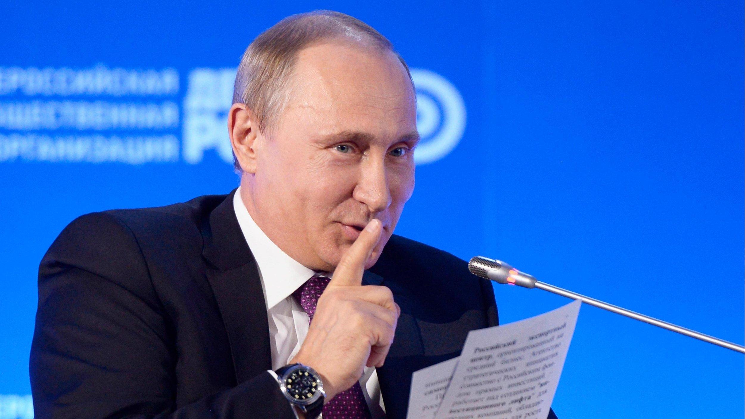 Source:AP/Alexei Nikolsky/Ria Novosti, Kremlin Pool Photo via TheTimes