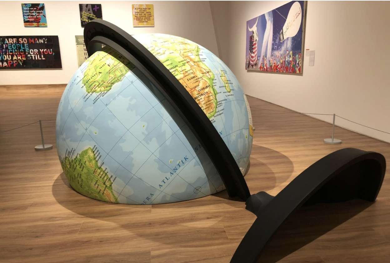 Picture: The World Falls to the Earth, by Rudi Mantofani. Picture: Enid Tsui