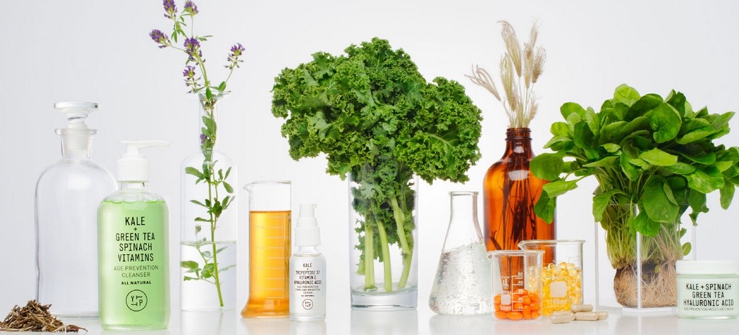An illustration of the growing trend of organic beauty products (Photo: Youth To The People)