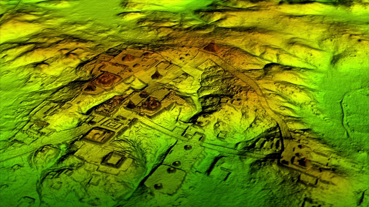 "Laser scans reveal Maya ""megalopolis"" below Guatemalan jungle (National Geographic)"