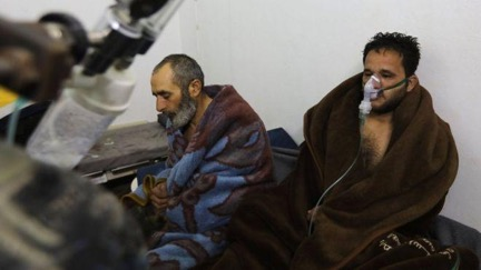 Civilians ailed by breathing problems, purportedly caused by chlorine attack | AFP